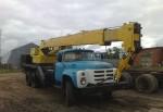 Автокран 10 тонн 15 метров ЗИЛ