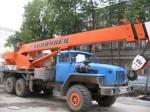 Автокран 25 тонн 21 метров Урал