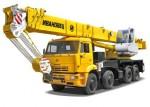 Автокран 50 тонн 55 метров КАМАЗ