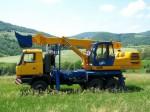 Экскаватор-планировщик Tatra объем ковша 0,5 м.куб