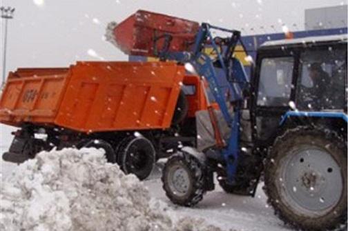 уборка снега, вывоз снега, утилизация снега