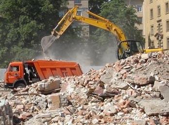 Заказ машин для вывоза строительного мусора в Перми