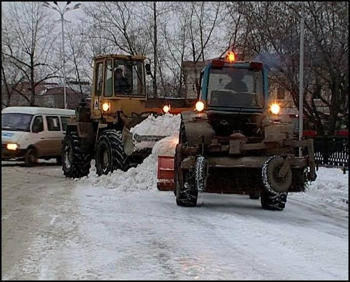 Заказать трактор щетку для чистки снега