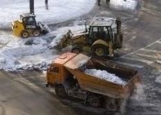 Заказать погрузчик для чистки и погрузки снега