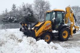 Очистка дорог от снега и наледи. Вывоз снега в Перми