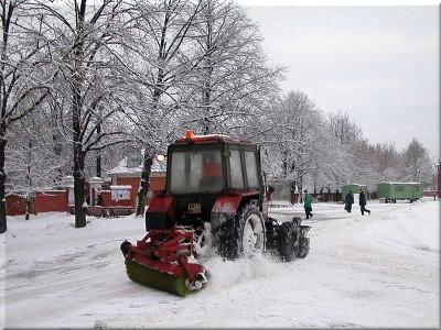 Нанять трактор для уборки снега в Перми