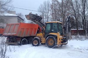 Техника для чистки и вывоза снега в Перми